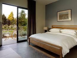 black wooden bed frame bedroom modern