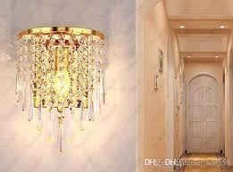 home crystal wall sconce lamp pendant