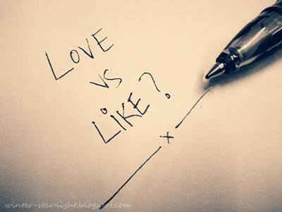 Image result for Love or Like""
