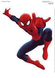Spiderman Centros De Mesa Para Imprimir Gratis Cumpleanos