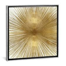 Shop iCanvas ''Radiant Gold'' by Abby Young - Overstock - 25436811