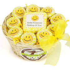 smiley oreo gift basket for any
