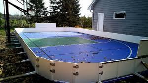 custom ice rinks backyard ice rink