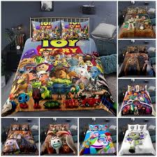 Best Sale Cbc752 Disney Toy Story Sherif Woody Buzz Lightyear Bedding Set Quilt Duvet Covers Pillowcase Kids Bedroom Decora Boys Bed Single Queen Cicig Co