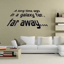 Shop Removable Star Wars Wall Sticker Living Room Mural Decal Home Decor Art Online From Best Wall Stickers Murals On Jd Com Global Site Joybuy Com