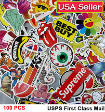 100 Random Vinyl Decal Graffiti Bomb Laptop Waterproof Sticker Skateboard Vsco For Sale Online Ebay