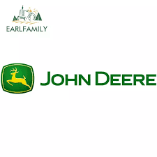 Earlfamily 13cm For John Deere Car Stickers Sunscreen Decal Waterproof Motorcycle Personality Occlusion Scratch Decoration Car Stickers Aliexpress