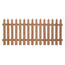 Shop Severe Weather Natural Western Red Cedar Privacy Fence Panel Common 8 Ft X 3 5 Ft Actual Picket Fence Panels Wood Fence Fence Panels