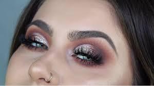 half cut crease makeup tutorial you