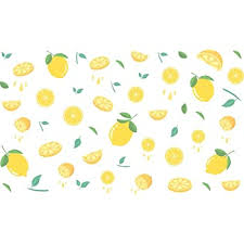 Amazon Com Drcor Lemon Kitchen Wall Decal Wall Stickers Yellow Farmhouse Fall Laundry Girls Bedroom Nursery Living Room Decor 2 Sheets 23 X14 Arts Crafts Sewing