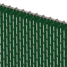 Pds Tl Chain Link Fence Slats Top Lock 8 Foot Green