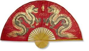 Chinese Wall Fans Fiery Dragons Wall Fans Dragon Wall Chinese Wall
