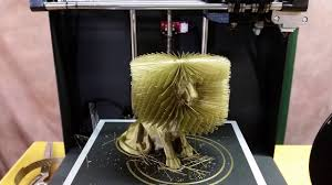 3D Printed Hairy Lion - YouTube