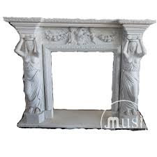 natural white stone indoor decoration