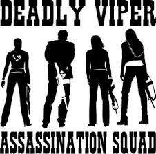 Deadly Viper Assassination Squad Vinyl Auto Decal Window Sticker 4 Kill Bill Ebay