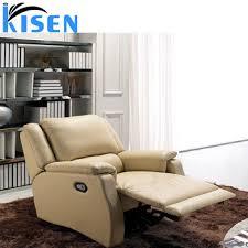 recliner single leather german sofa