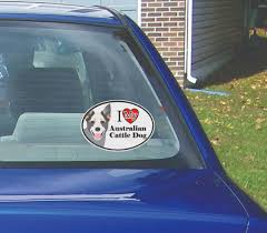 Australian Cattle Dog Window Decal Cwv Acatldog2 5 00 Westickerthang Offers A Wide Variety Of Sticker Wall Decals Wall Nursery Art And Car Window Stickers For Decorating Walls Or Other Surfaces Without