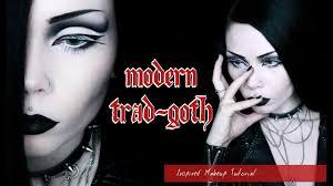 trad goth makeup tutorial saubhaya makeup