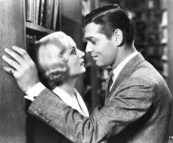 """Cinematic Literature on Twitter: """"Romance in a library 📚💖 ▫ No Man of Her  Own (1932) by Wesley Ruggles #ClarkGable #CaroleLombard… """""""