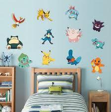 Dragonite Pokemon Decal Removable Wall Sticker Home Decor Art Kids Bedroom Mural Decals Stickers Vinyl Art Home Garden Thecorner Mx