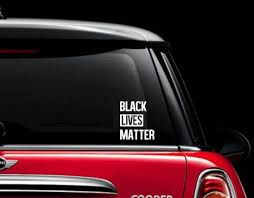Black Lives Matter Car Decal Sticker Laptop Tablet Sticker Etsy
