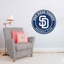 San Diego Padres Mlb Logo Decoration Floor Wall Decal Sticker Nursery For Home Krafmatics