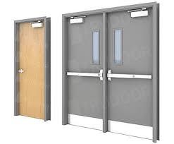 commercial steel doors hollow metal
