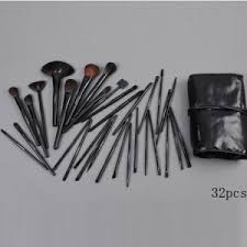 stylish pieces black mac 5 brush set