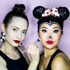 minnie mouse makeup tutorial
