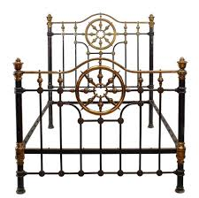 american victorian painted brass full bed 1