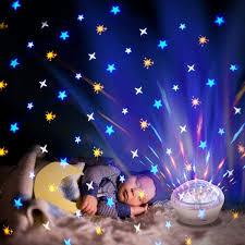 Kids Bedroom Dream Led Moon Star Projector Night Light Lamp Gifts For Sale Online Ebay