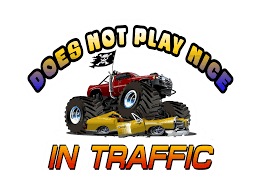 Don T Play Nice Monster Truck Phrase Quote Bumper Sticker Slang Funny Car Decal Mc Artwork Decals