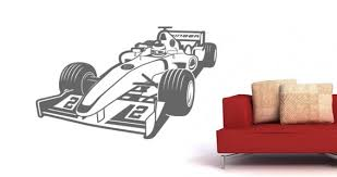Turbo Race Car Wall Stickers For Kids Dezign With A Z