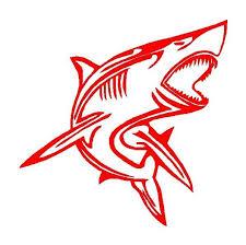 Tribal Shark Vinyl Decal Car Truck Boat Window Body Sticker Kandy Vinyl Shop