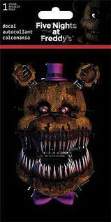 Five Nights At Freddy S Car Window Decal Sticker 42692024957 Ebay