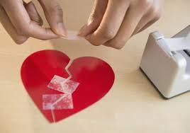 broken heart when a relationship ends