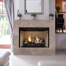 warm and nice ventless gas fireplace