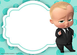 Baby Boss Invitation Template For Your Adorable Little Boss