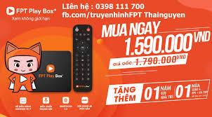 Android Tivi Box 4K FPT Play Box 2019 | Tổng đài lắp mạng FPT Thái Nguyên | Cáp quang | Wifi | Truyền hình 4K
