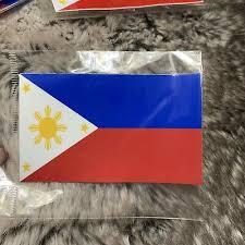 H X 5 75 Filipino Vinyl Car Decal Sticker 5 With Philippine Sun Stars W