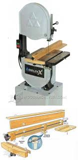Band Saw Rip Fence Plans Woodworking Shop Plans Woodworking Bandsaw