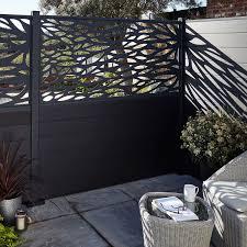 Blooma Neva Decorative 1 2 Panel W 1 79 M H 0 88m Modern Fence Design Fence Design Fence Panels