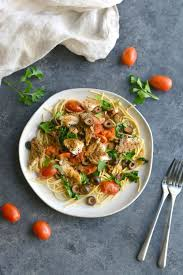 Mackerel Mediterranean Pasta – Sizzlefish