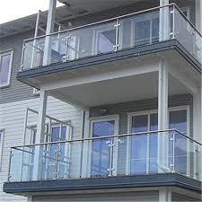 stainless steel post railing design
