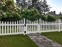 Amazon Com Zippity Outdoor Products Zp19043 All American Gate White Garden Outdoor