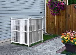 Amazon Com Zippity Outdoor Products Zp19008 Wilmington Vinyl Privacy Screen 36 X 48 White 2 Pack Garden Outdoor