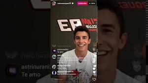 Marc Marquez Q&A live Instagram - YouTube