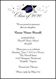 graduation announcements sles