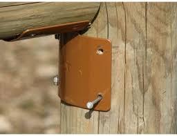 Ram Tough Round Post Fence Brackets 25 Ct Brackets Amazon Canada
