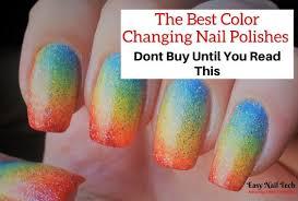 color mood changing nail polishes